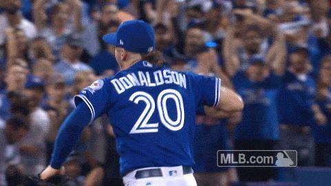 New trendy GIF/ Giphy. mlb baseball celebration slow motion pumped alcs toronto blue jays blue jays slow mo josh donaldson game 4 pumped up donaldson. Let like/ repin/ follow @cutephonecases