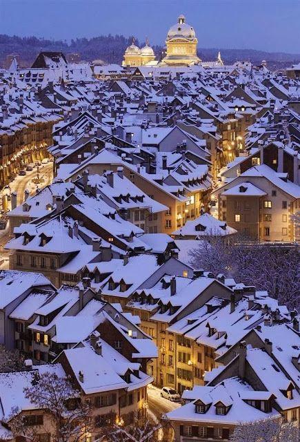 Bern, Switzerland.  | My snowy obsession