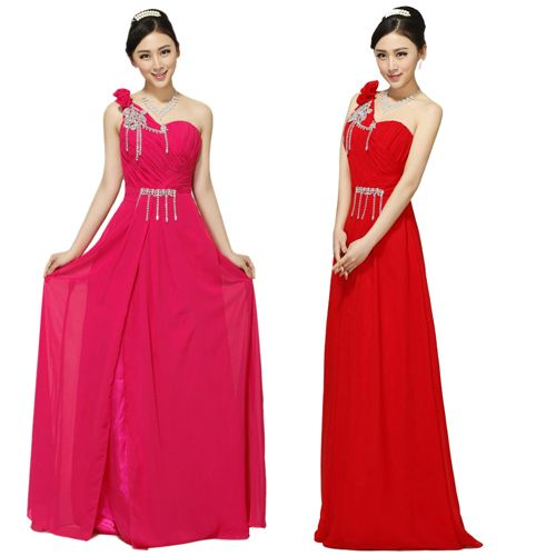 Cheap dress red 02