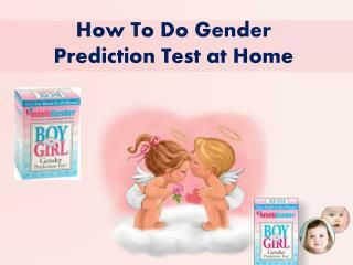 IntelliGender's Gender Prediction Test™… a fun pre-birth experience for moms who can't wait to know! You may use our gender prediction test weeks before your sonogram. Visit www.intelligender.com for more details.