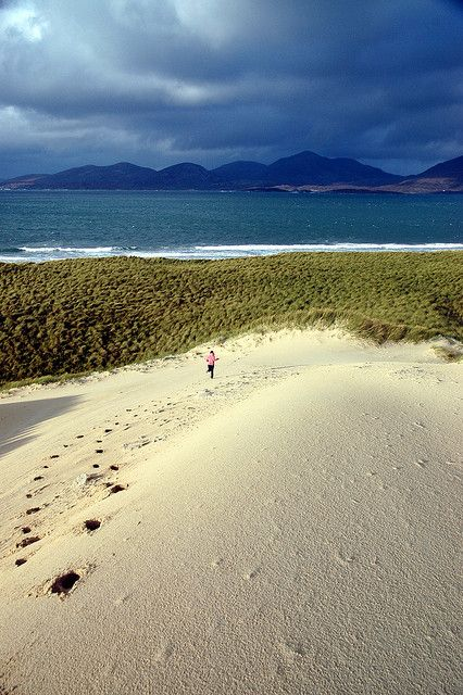 Luskentyre Bay, Isle of Harris Scotland
