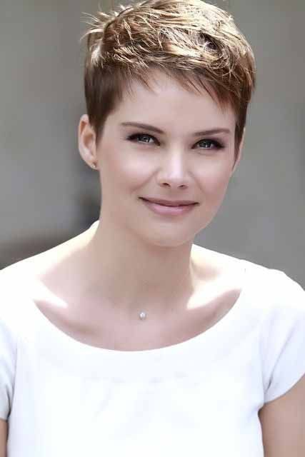 Image Result For Short Pixie Haircuts For Thick Hair Hair Nails