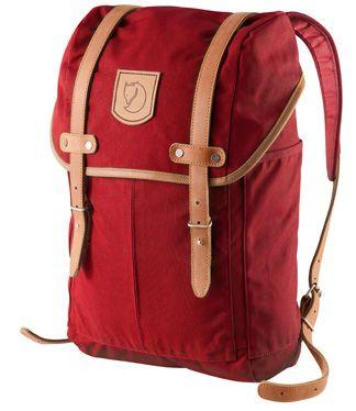 Fjällräven No.21 Medium Rucksack red