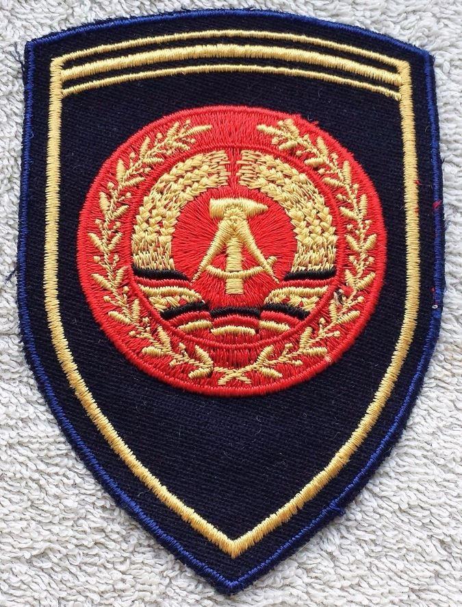 EAST GERMAN NAVY PATCH DDR NVA Badge Service Uniform Volksmarine Officer GDR