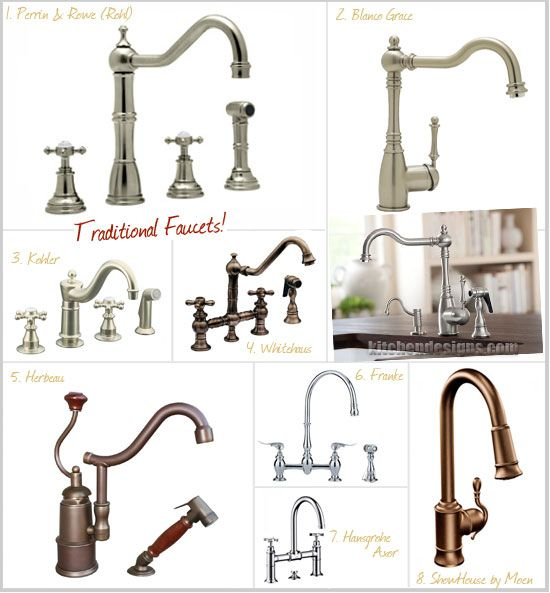 Moen Showhouse Kitchen Faucets: Traditional Kitchen Faucets By Traditional Kitchen Faucets