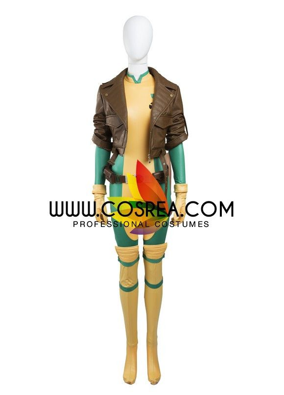 Marvel Rogue Comic Version Cosplay Costume