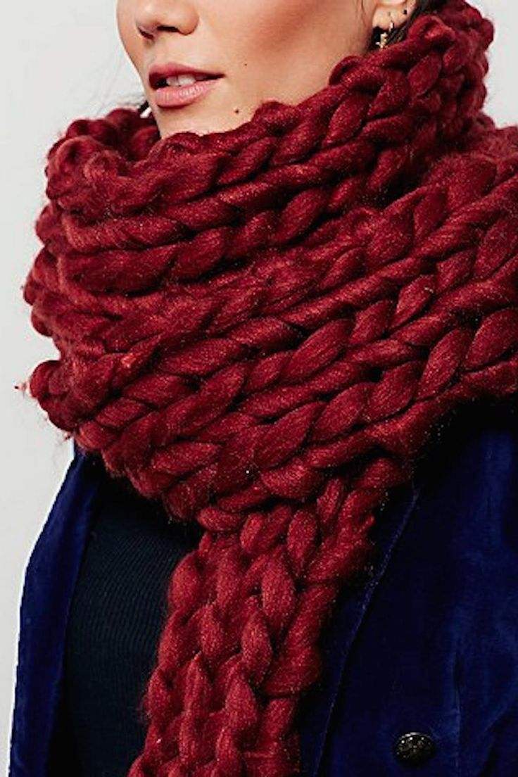 Free People Chunky Braided Scarf One Size in Rust. Free shipping and guaranteed authenticity on Free People Chunky Braided Scarf One Size in Rust at Tradesy. A long narrow braided scarf gets an update with th...