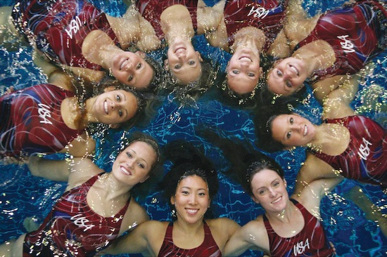 USA Team, Synchronized Swimming #olympics #london2012 #travel #london