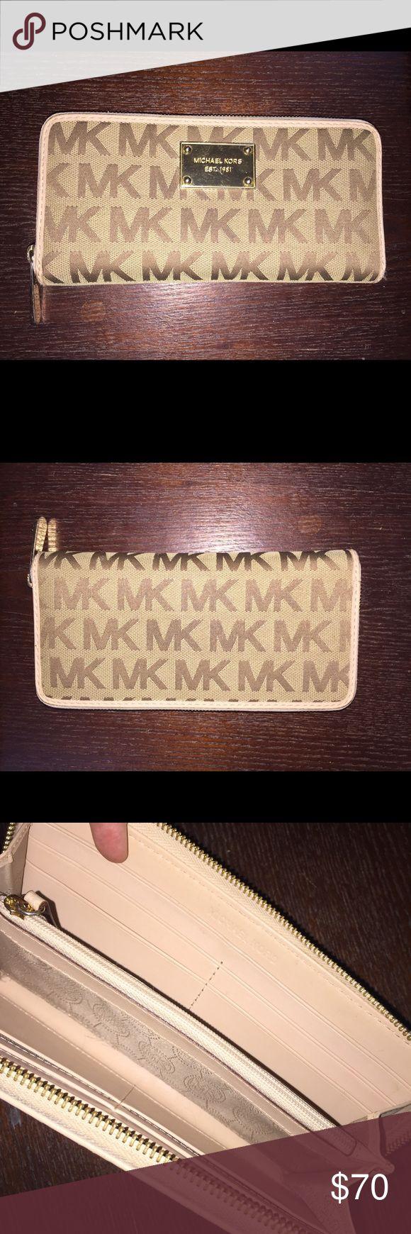 Michael Kors Continental Wallet Zip around Michael Kors Bags Wallets
