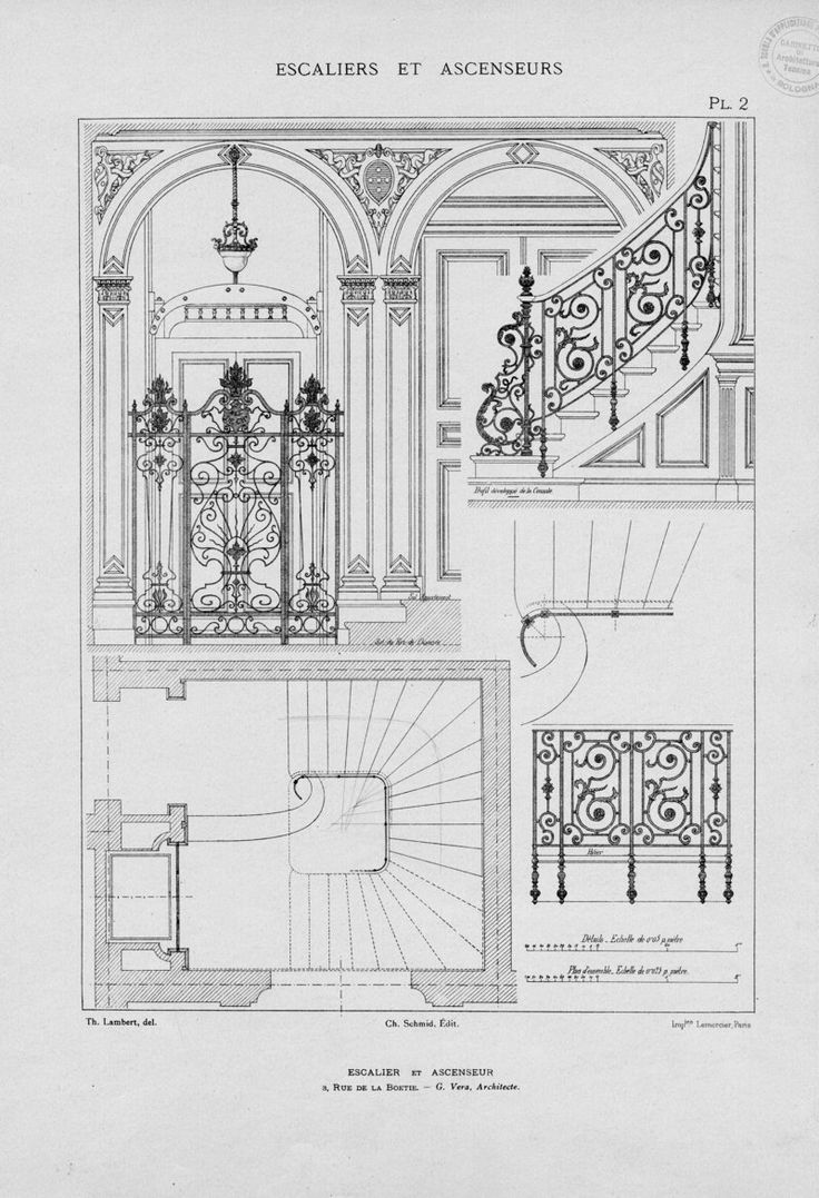 174 best Drawing stairs and stair railing images on