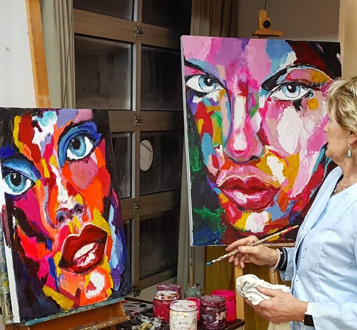 68 vind-ik-leuks, 7 reacties - Eduard Moes art studio (@eduardmoes_artstudio) op Instagram: 'Colorfull and expressive portraits in the studio. #portrait #colorfull #portraitpainting…'