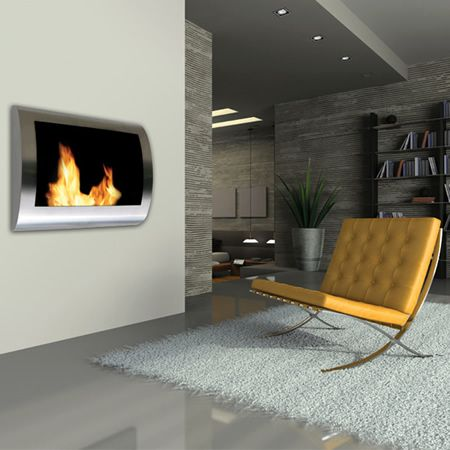 1000 Ideas About Wall Mounted Fireplace On Pinterest Electric Fireplaces Stone Electric