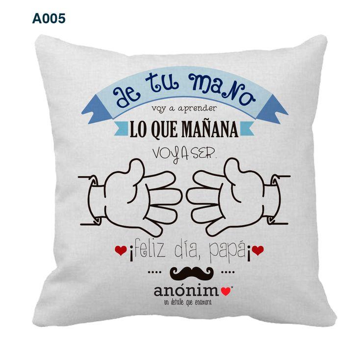 Regalos originales y personalizados en #YosoyAnonimo #Almohadas #Almohadaspersonalizadas