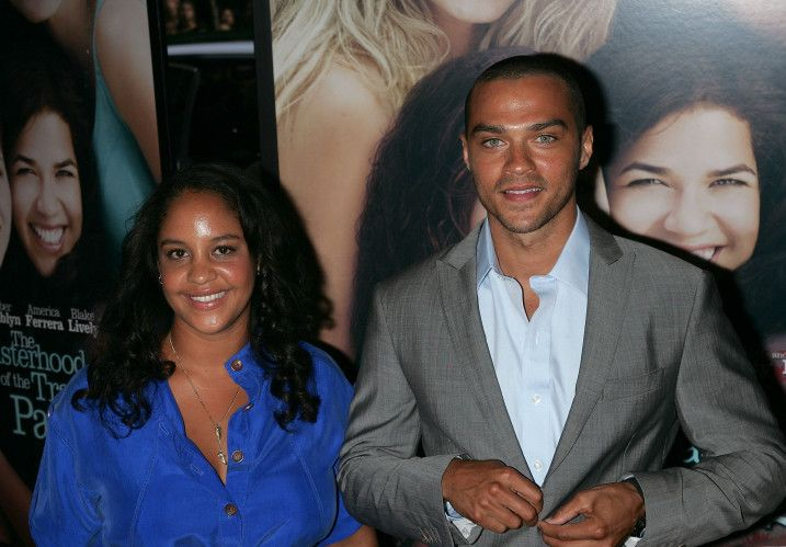 """Grey's Anatomy"" star Jesse Williams and his wife Aryn Drake-Lee"