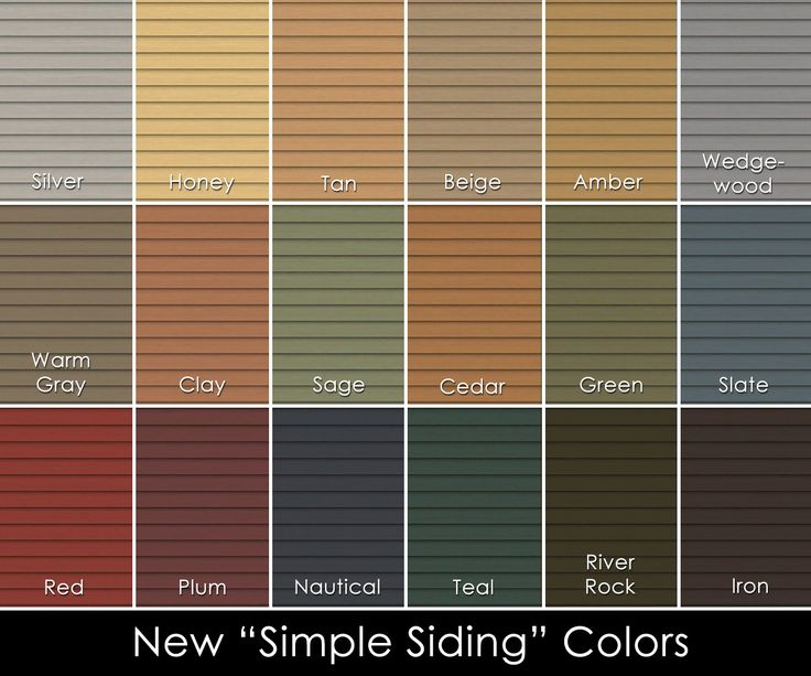 7 Popular Siding Materials To Consider: Vinyl Siding Color Scheme Pictures Contemporary Decoration