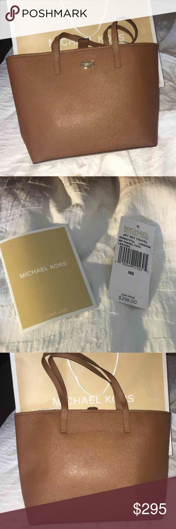 New Michael Kors bag Purchased this from the Michael Kors store for $298+ tax Michael Kors Bags