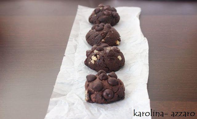 karolina-azzaro: Čokoládovo kávové Cookies
