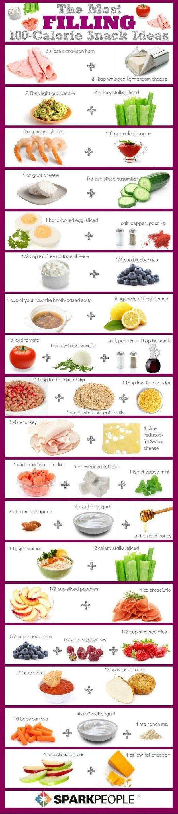 Misch Dein Snack-Repertoire mit einer dieser Ideen auf, die nur 100 Kalorien haben. | 7 einfache Tipps, die Dir helfen, nächste Woche gesünder zu essen