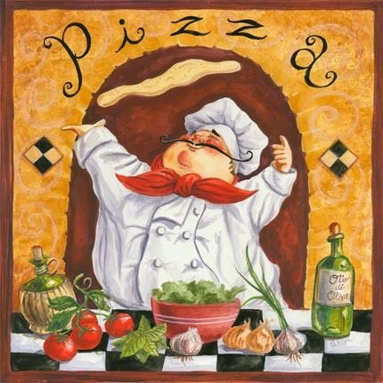 Checkered Chefs - Pizza by Geoff Allen