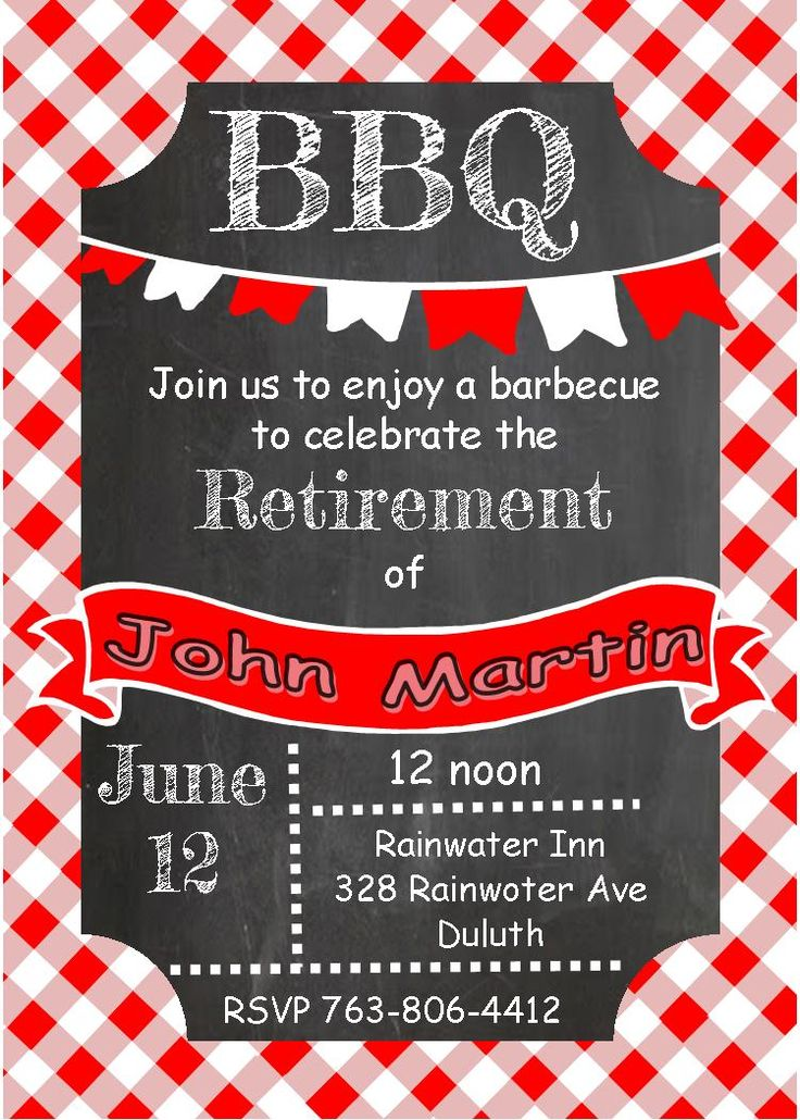 37 best Retirement Party Invitations images on Pinterest ...