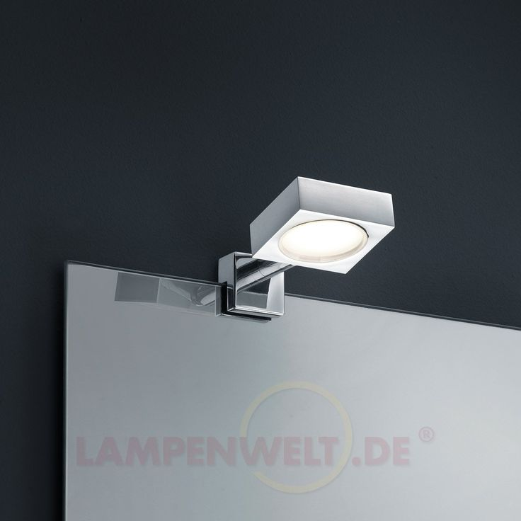 Eckige LED-Spiegelleuchte Tibelia, IP44 9004514 79,90u20ac Haus - badezimmer spiegelleuchten led