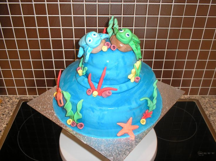 Nicky's Cakes: Turtle's Tale Cake