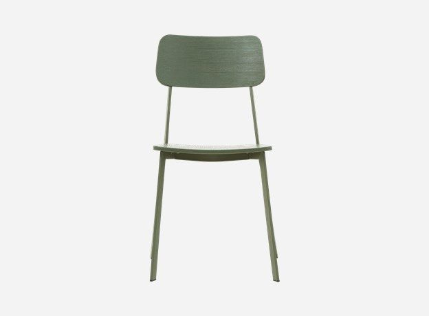 Cm0312 - Chair, Ace, army green,  b.: 42 cm, h.: 82 cm, seating height: 46 cm