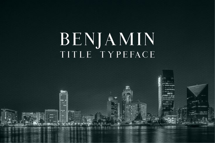 Benjamin Title by webcodesigns available for $9.00 at FontBundles.net