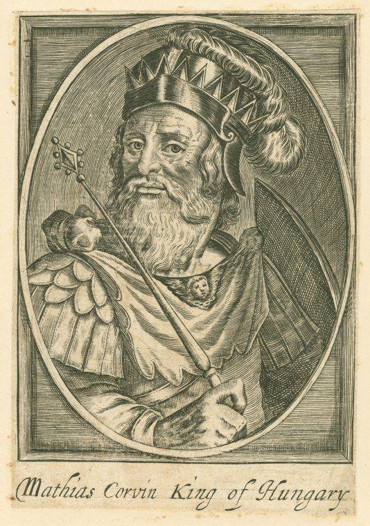 Mátyás király - Matthias Corvin King of Hungary