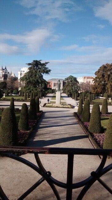 Parque Del Buen Retiro/ Madrid