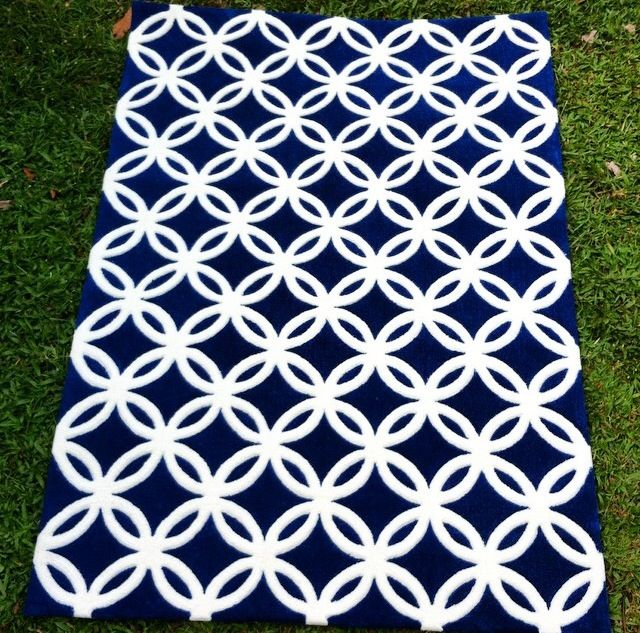 Kawung rug by MOHOI - for enquiry email ishimine@mohoi.asia