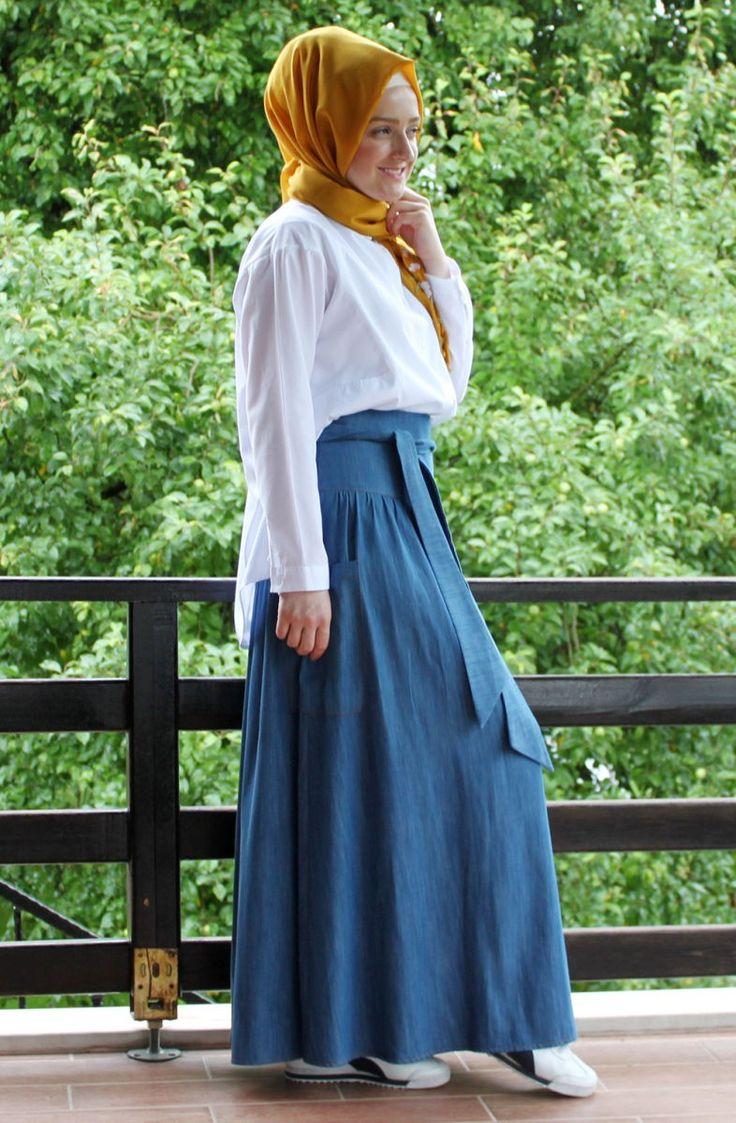 Tesetür Giyim Markalarının Güvenilir Alışveriş Sitesi #tesetturmoda #tesetturstil #fashion #instagood #fashionlovers #dress #instalike #tesetturelbise #hijabstyle #hijab #tesetturask #tesetturgiyim #hijabfashion #kina #dügün #bayan #stylehijab #sal #nişanlik #tasarim #buyukbeden #tesetturnisanlik #abaya #tesettürelbise #tesettürgiyim #ucuztesettur #kapidaodeme #tesettür #indirim #yenisezon #tunik  By Şedde Semen Kot Tencel Etek 5004 Kot Tencel Rengi -   89.90tl…