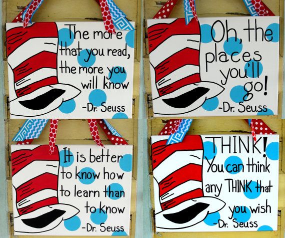 Dr Seuss Quotes Love Quotes On Canvas Original Painting 11x14: 25+ Unique Teacher Canvas Ideas On Pinterest