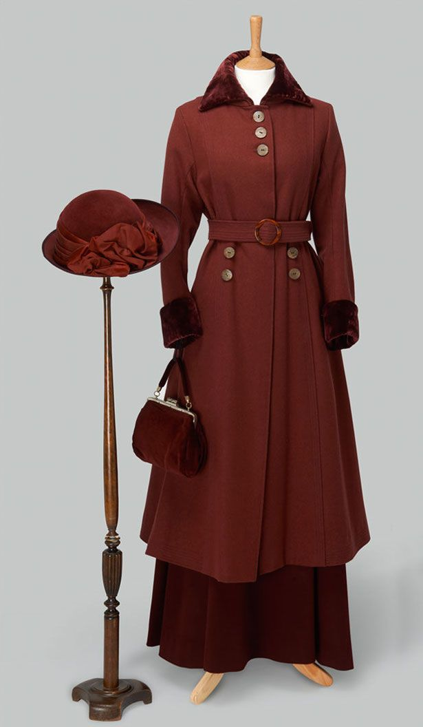 "Costume designed by Rosalind Ebbutt for Michelle Dockery in Downton Abbey (2010-) From Cosprop via the ""Dressing Downton"" exhibition .."