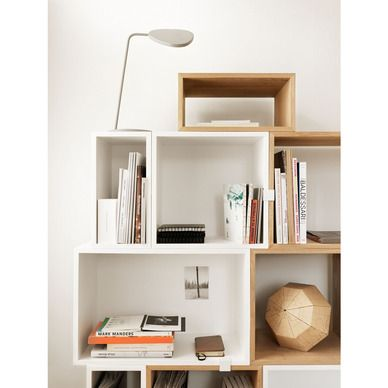 Muuto mini stacked hylle hvit medium