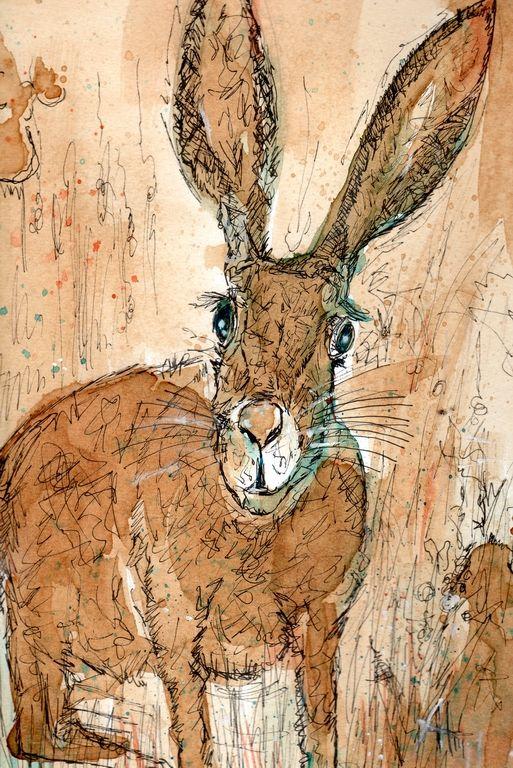 Anja Hühn – Künstler » Galerie: Kaffeemalerei