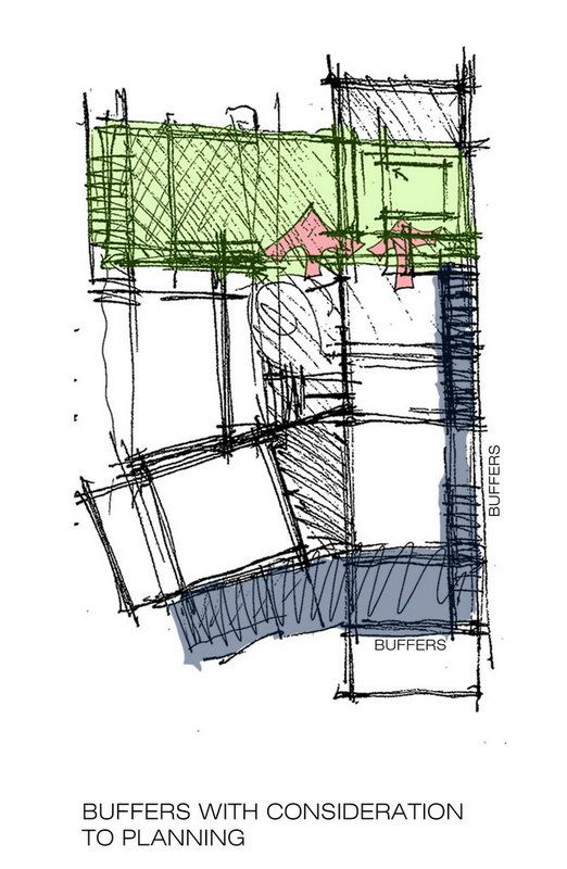 Stacked House, drawing courtesy Architecture Paradigm