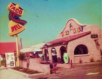 Taco Bell 1960s (and beyond)Old Schools, Remember This, Mr. Tacos, Blast, Childhood Memories, Food, Nostalgia, Tacos Belle, Fire Pit