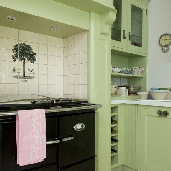Chalk Paint Kitchen Cabinets Green: Best 25+ Green Country Kitchen Ideas On Pinterest