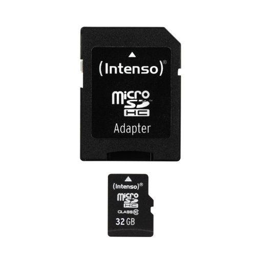 Intenso Micro SDHC 32GB Class 10 Speicherkarte inkl. SD-Adapter - http://kameras-kaufen.de/intenso/intenso-micro-sdhc-32gb-class-10-speicherkarte-sd