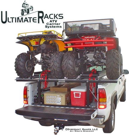 The Ultimate Rack Atv Truck Rack Camp Pinterest Atv
