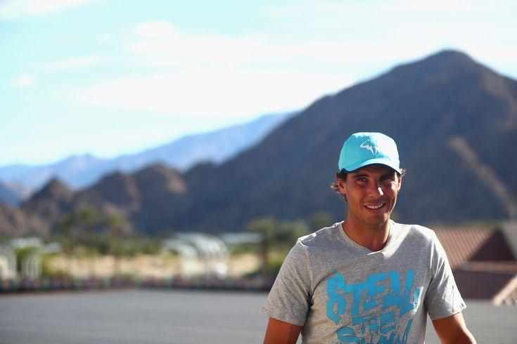 Rafael Nadal Photos: 2016 BNP Paribas Open - Day 3