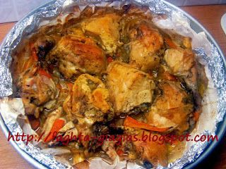 Κοτόπουλο γιούλμπασι ζουμερό και μαλακό