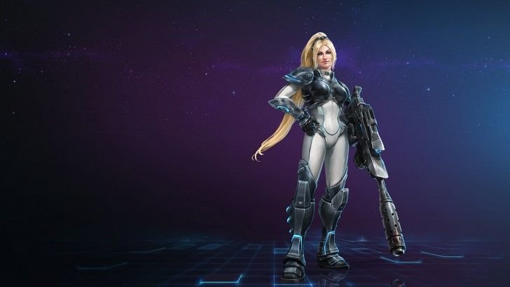 Nova Terra Dominion Ghost Starcraft Heroes of the Storm Game Girl Mr__jack 1920x1080