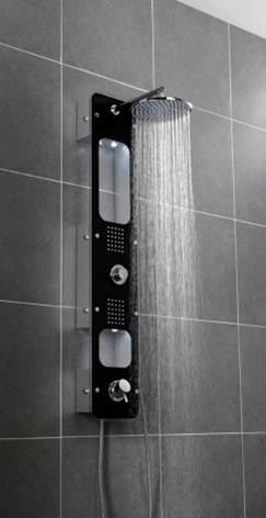 colonne de douche hydromassante lux