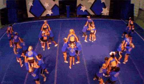 Claws out, call em' out! - Cheer Athletics:)