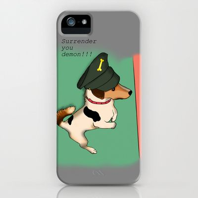General Mr Badger iPhone Case by Mr Badger & Little Stitch - $35.00