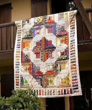 Love Log Cabin Quilts! by maria.t.rogers