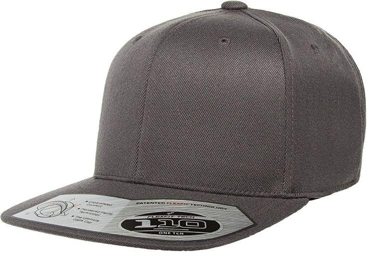 Buy this Flexfit 110F Dark Grey One Ten Snapback! Go get it now only at www.TheCapGuys.com. Adjustable + Flexfit Technology. Classic shape. Matching plastic snap & undervisor. Hard buckram. Moisture-absorbent elastic sweatband. Premium wool blend. #flexfit #snapback #grey #oneten #110F #logo #hat #cap #blue #fashion #swag #me #style # #tagsforlikes #me #swagger #jacket #shirt #dope #fresh #swagger