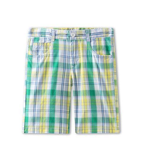 United Colors of Benetton Kids Boys' Plaid 5-Pocket Shorts (Little Kids/Big Kids)